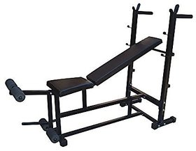 SPORTO Fitness Weight Lifting Multi Purpose Adjustable Multi Bench 4 in 1 Home Gym Bench (Incline + Decline + Flat + Sit up Bench)