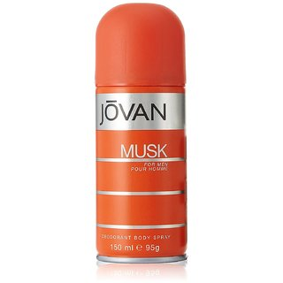 Jovan Musk Body Spray for Men 150ml