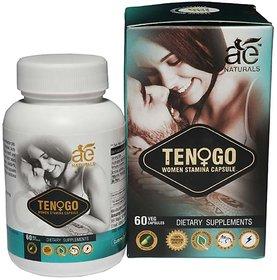 AE NATURALS Tenogo Women Stamina Capsules 60 Veg Capsul