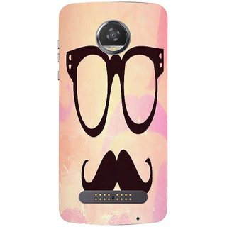 Printgasm Motorola Moto Z3 Play printed back hard cover/case,  Matte finish, premium 3D printed, designer case