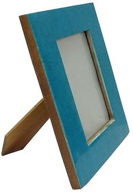 UNI DECORS Blue Design Decorative Table Top Photo Frame, Gift for Brother / Gift for Friend / Gift for everything  100 Premium Handmade (Photo Size 4 X 6)