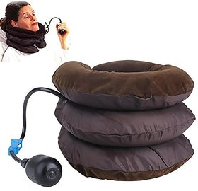 DALUCI Comfort Air Pump Neck Pillow Cervical Traction Pain Relief Massager Relaxation Health Care