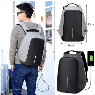 7d5ee1eff989 Andride Anti-theft Laptop Backpack Bags with USB Charging Port for Business  Office Men Women Students Computer Bag