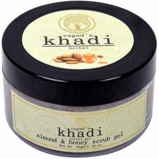 Vagad's Khadi Almond And Honey Scrub Gel