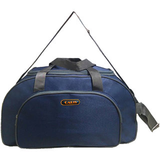 Caris 22 Inch Navy Blue Grey Wheeler Bag CBGWB001