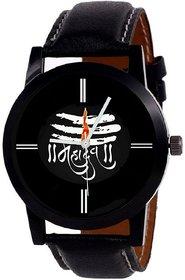 KAJARU 114 MAHADEV BLACK DIAL ANALOG WATCH FOR MEN AND