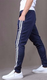 Pack Of 1 Navy Blue Stylish Sports Track Pant for Men