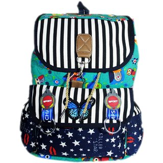 Buy Women s Printed Backpack College Bag For Girl s (Multi Color ... 36b57770eaf3f