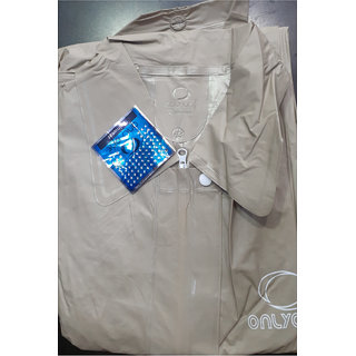 Ladies Plain Raincoat (51 Inches,Common For L-XL)