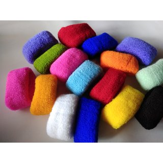 10pcs Colourfull Hair Rubberband