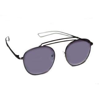 3e54a5c63 Buy Victoria Grey Retro Round Sunglasses Online - Get 75% Off