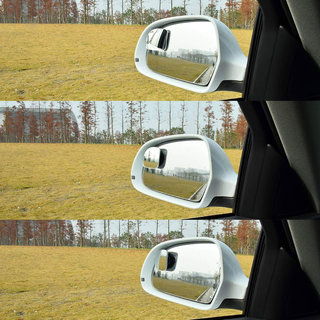 Tantra Fan Shape 360 Degree Rotate Sway Adjustabe Blind Spot Mirrors