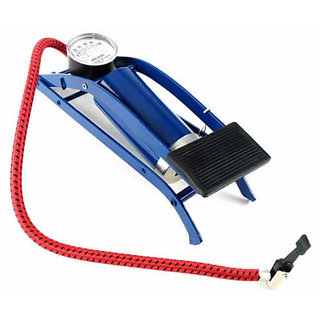 Multipurpose Air Pressure Foot Pump For Bike, Car , Motorcycle ,Balls,toys etc easy for all age person easy carry