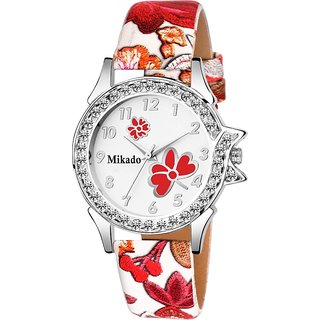 i DIVA'S  Mikado Artistic Design Strap Analog watch for Women And Girls Watch - For Girls