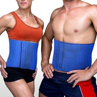 UNISEX 27cm NEOPRENE Slimming / WAIST TRIMMER Belt (BLUE) -TARGET PLUS