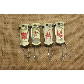 1Pc  lighters Eagle head/scorpion/butterfly and a Beer bottle opener CIGARETTE lighter   -TARGET PLUS