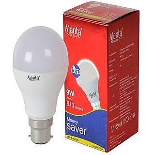 Ajanta bulb 9w led white