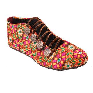Buy Gerief Stylish Multicolor Velvet Women s Shoe Online   ₹599 from  ShopClues d47938d897