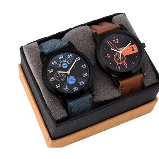 Men Analog Attractive Stylish Combo Watch - For Men By 5Star y