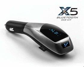 New Turn X5 Car Kit Wireless Bluetooth With USB And Han
