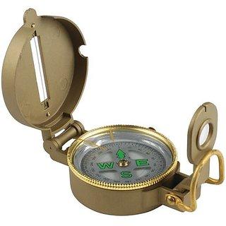 Lensatic Magnetic Compass METAL BRASS BODY -TARGET PLUS
