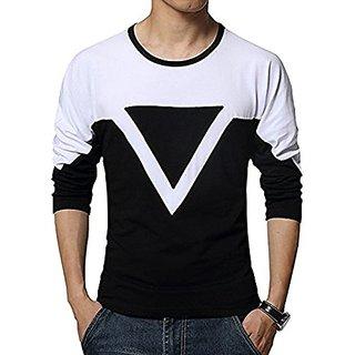 Redbrick round black triengle full sleeve  t shirt