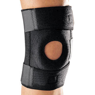 JM 1 X Leg Knee Muscle Joint Protection Brace Support Sports Bandage Guard Gym -07
