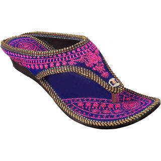 Gerief Embroidery Pink Slipper