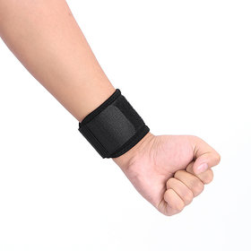Finest Wrist Support/Band With Velcro Closure, Made from Honey Comb Elastic Fabric (Qty-1Pc)