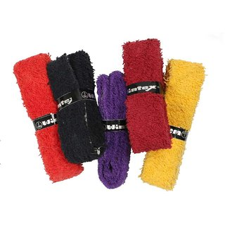 Wintex branded High Quality Badminton Towel Over Grip in Multicolors (Qty-1 Pc)