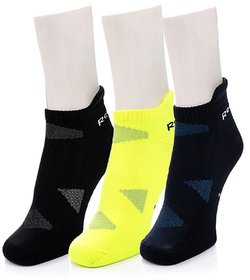 Reebok Unisex Ankle Socks - Pack of 3