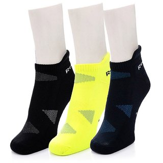 Reebok Unisex Ankle Socks - Pack of 3