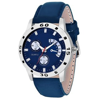 idivas 4New Lorem Blue Fogg Stylist Looking Professional Analog  Watch For Men ,Boys