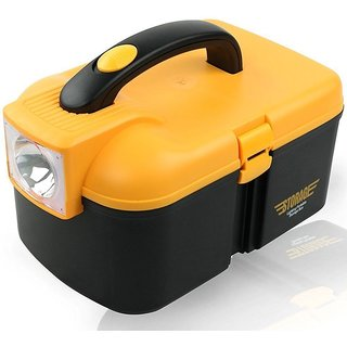 Multifunctional Storage Box With LED Torch Cum Tool Box Car Kit - TOOLBX2198