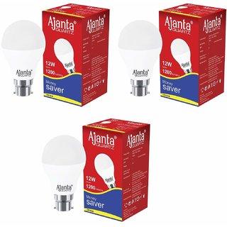 Ajanta bulb 12w led smart lighting pack 3