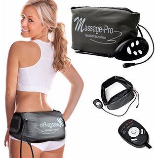 Massage Pro Sauna Belt Anti Fat Vibrate massager Slim Waist Belly Weight Loss-02