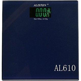 ALISTON Glass Electronic Bathroom Scale-AL-610