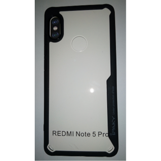 MOBILE BACK CASE COVER FOR REDMI NOTE 5 PRO (BLACK)