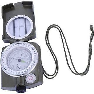 TARGET PLUS- Prismatic Magnetic Weslinger Metal Compass Military