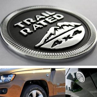 DY Trail Rated 4x4 Emblem Badge for Jeep  Unlimited