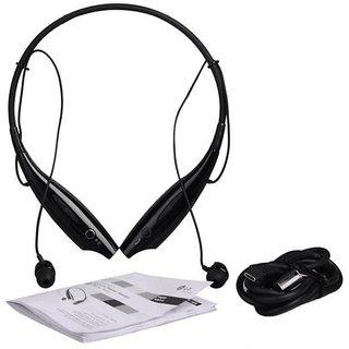 Rodex HBS730 Wireless Bluetooth Headphone Black