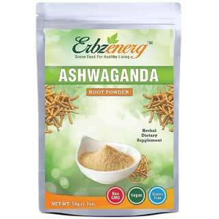 Erbzenerg Ashwagandha Powder 50gm