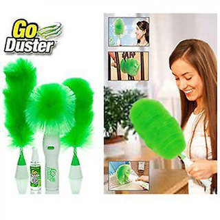 BANQLYN Motorized Electric Duster Wet and Dry Duster Set Cleaning 1