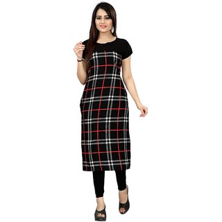 Woman's Digital Printed American Crepe Straight cut Kurt-71