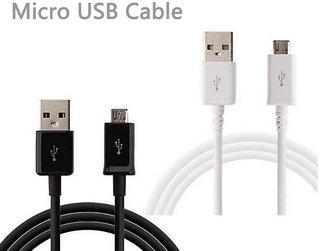 Kiko Original 2 Meter Long V8 Sync Usb Data Cable for Samsung,Micromax,Lava,Gionee,Vivo,Sony Etc, 3 Months Co. Warranty