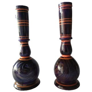 Flower Artificial Holder Pot Vase Planter Wooden Vase(10 inch Multicolor)