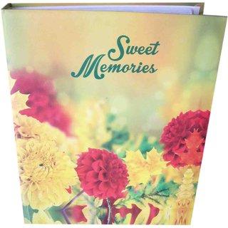 SWEET MEMORIES PHOTO ALBUM ( SIZE 4x6-72 PHOTOS POCKETS ) MC2271