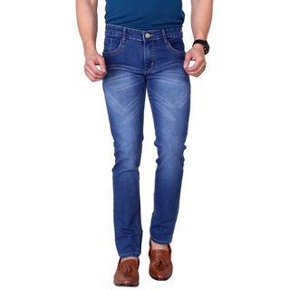 Ragzo Mens Multicolor Slim Fit Stretchable Jeans