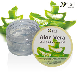 Turfy Pure Aloe Vera Gel - Natural Moisturizing Gel  ( 50 g)