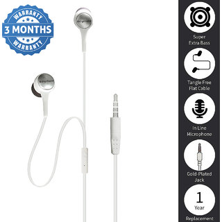 Digimate Earhook Wired In the Ear Earphone (Compatible to all mobiles)